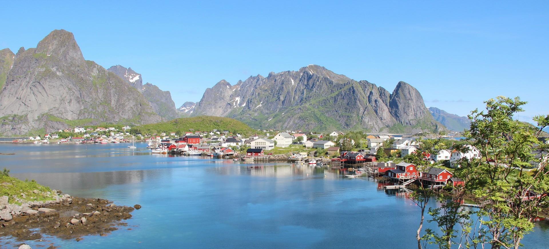 Un village de Pêcheurs à Bergen en Norvège
