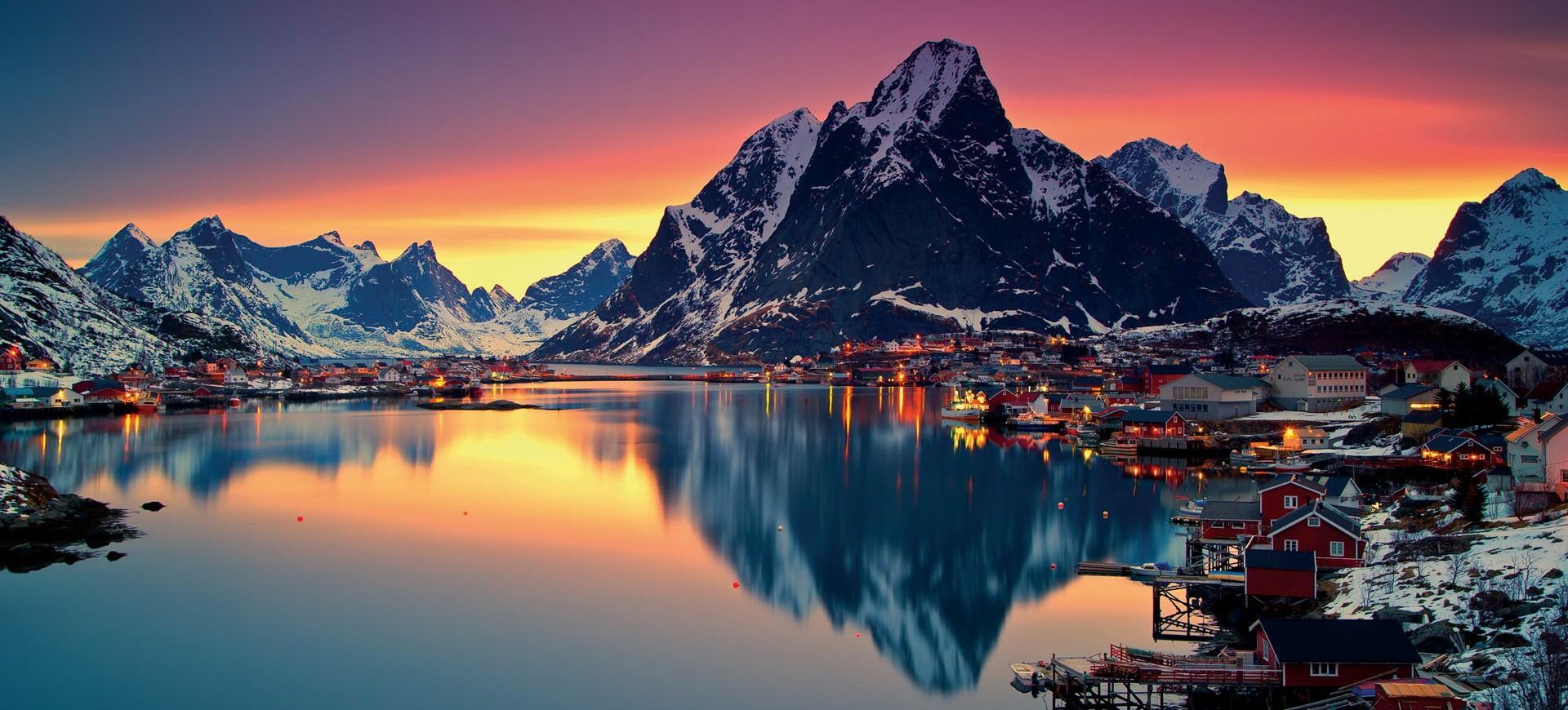 Iles Lofoten Reine
