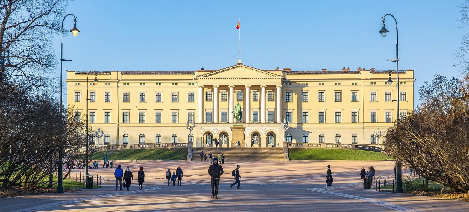Palais Royal Kongelige Slott à Oslo en Norvège