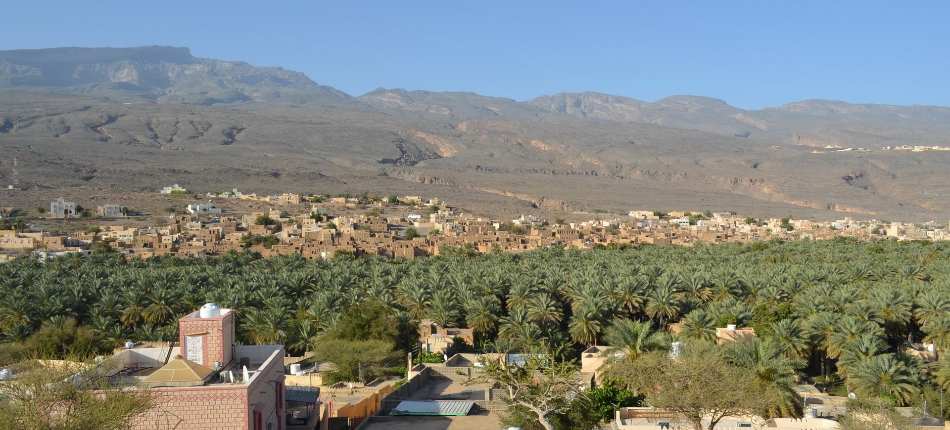 Jabal Akhdar à Oman