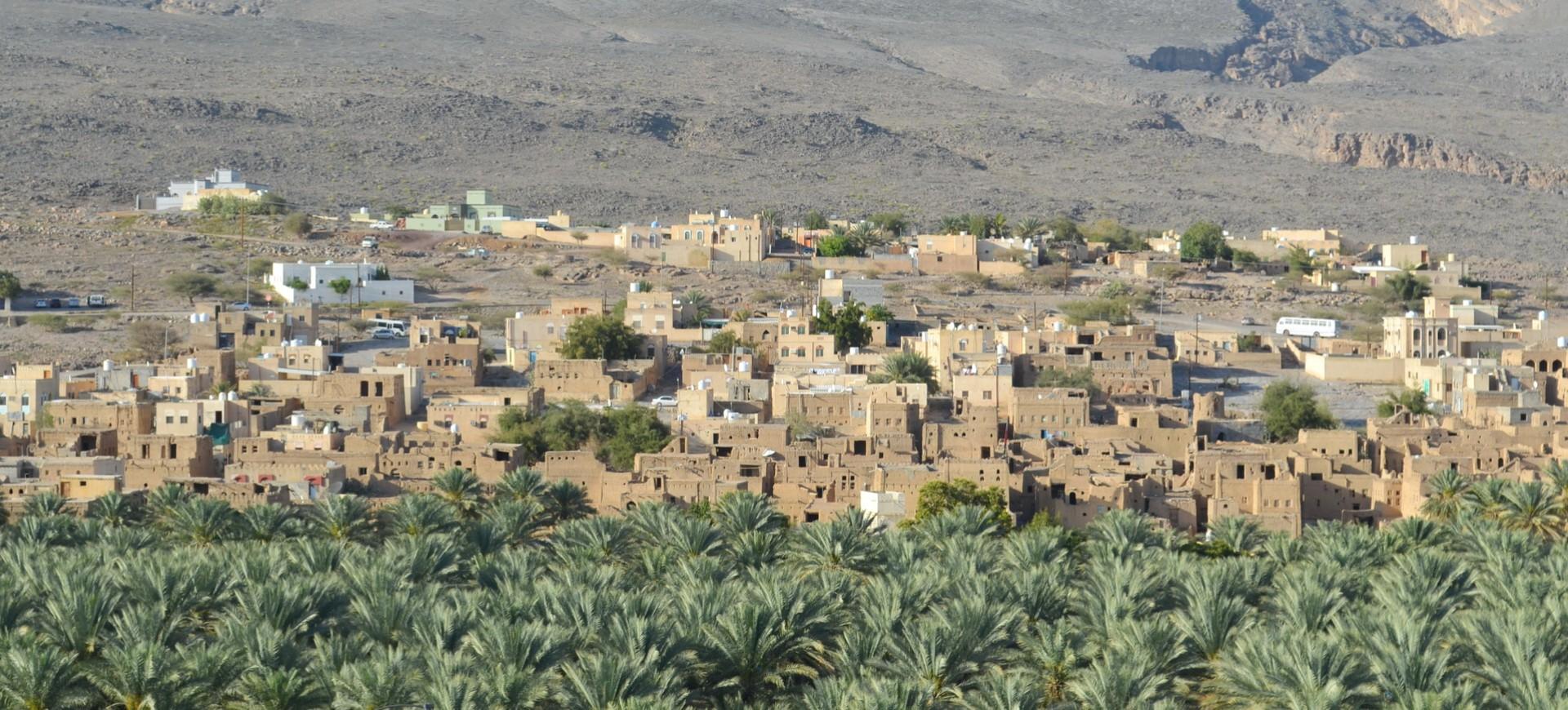 Oman Paysages du Djebel Akhdar