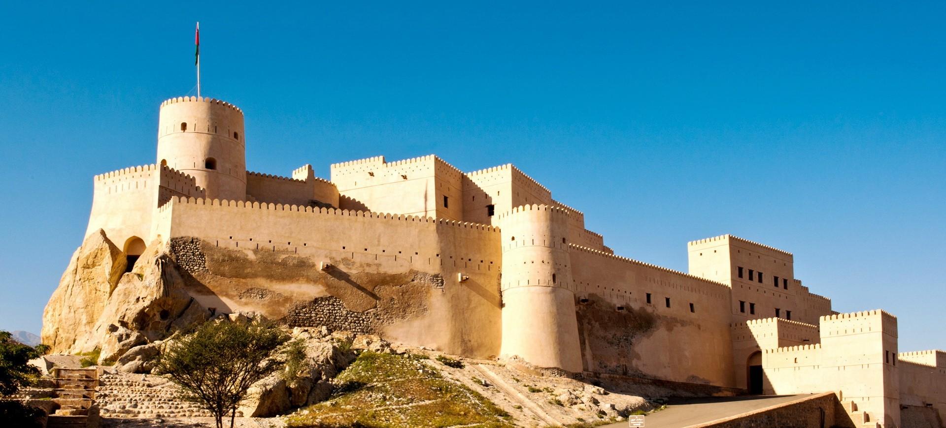 Oman Nakhal Fort
