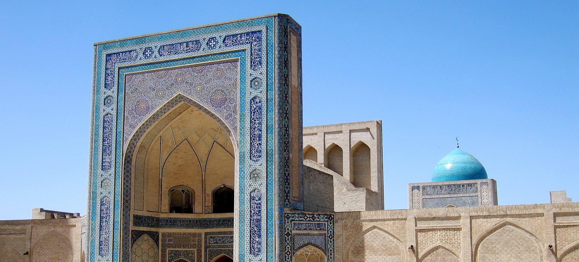 Nécropole à Shakhrisabz en Ouzbékistan