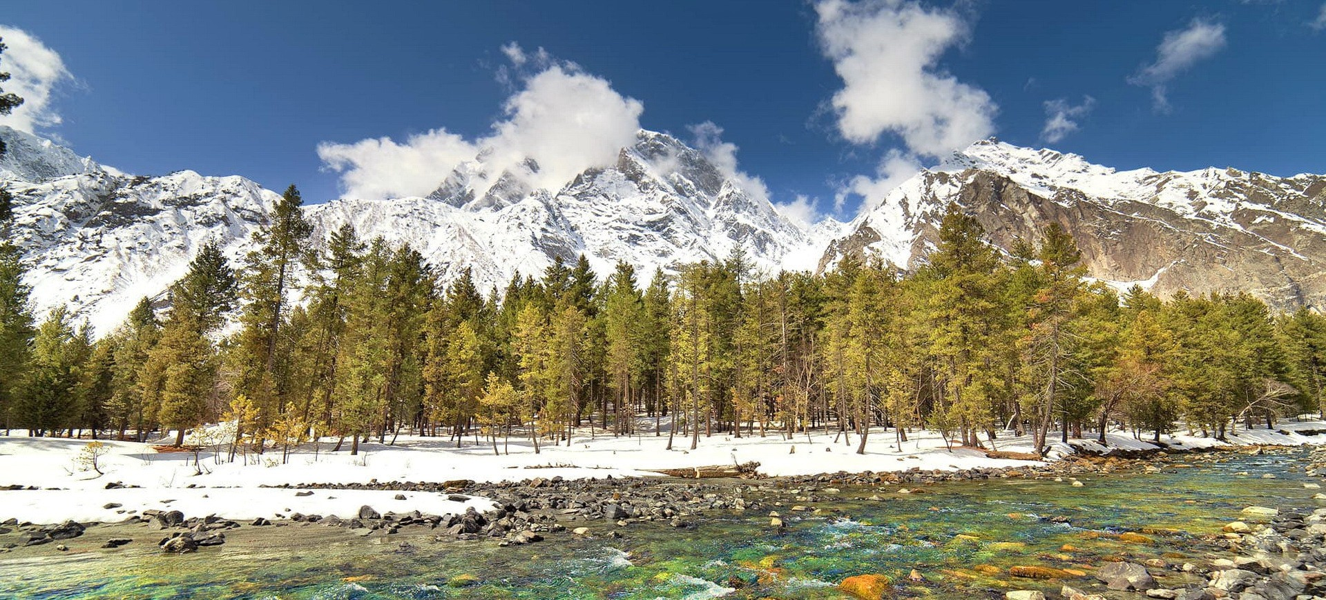 Vallée de Naltar à Gilgit Baltistan