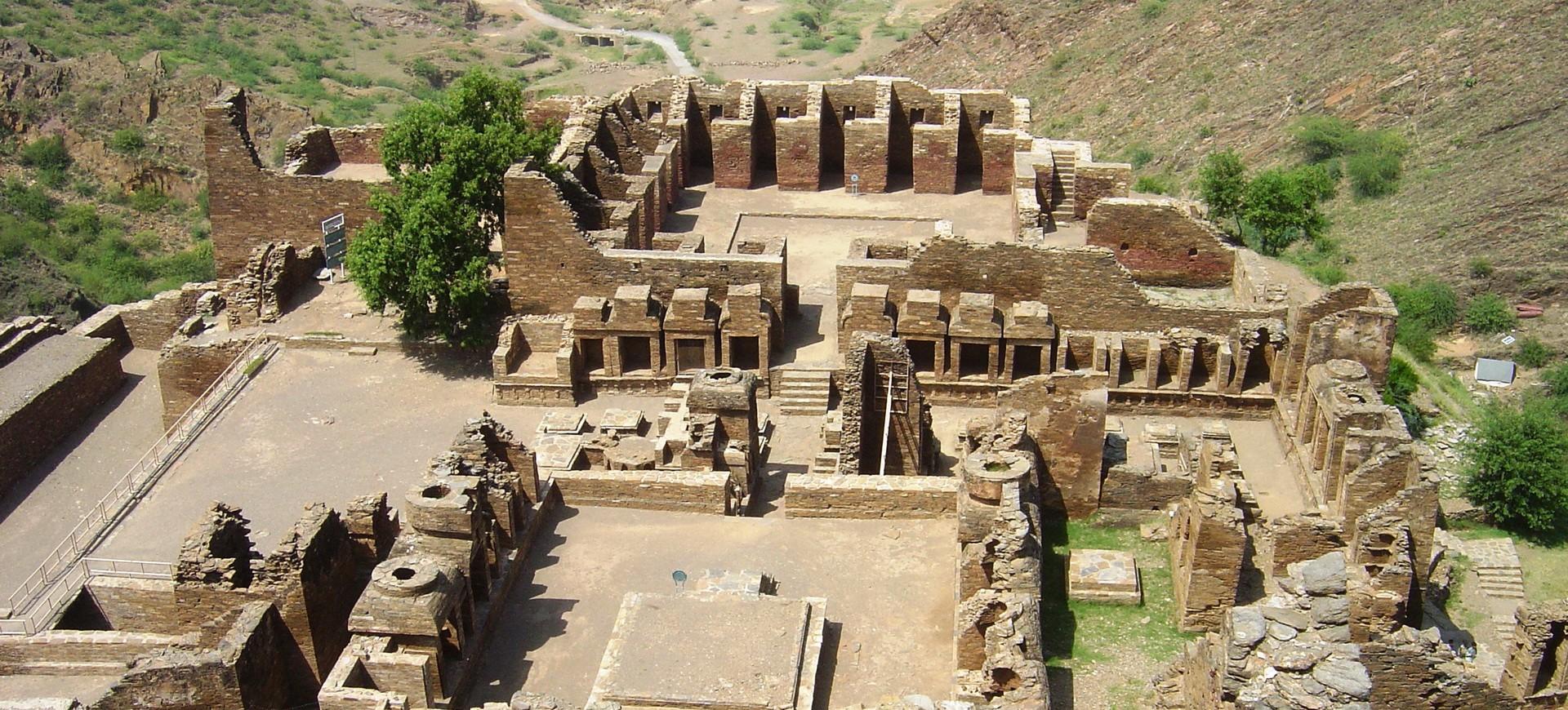 Le Monastère Bouddhiste à Tahkt e Bhai