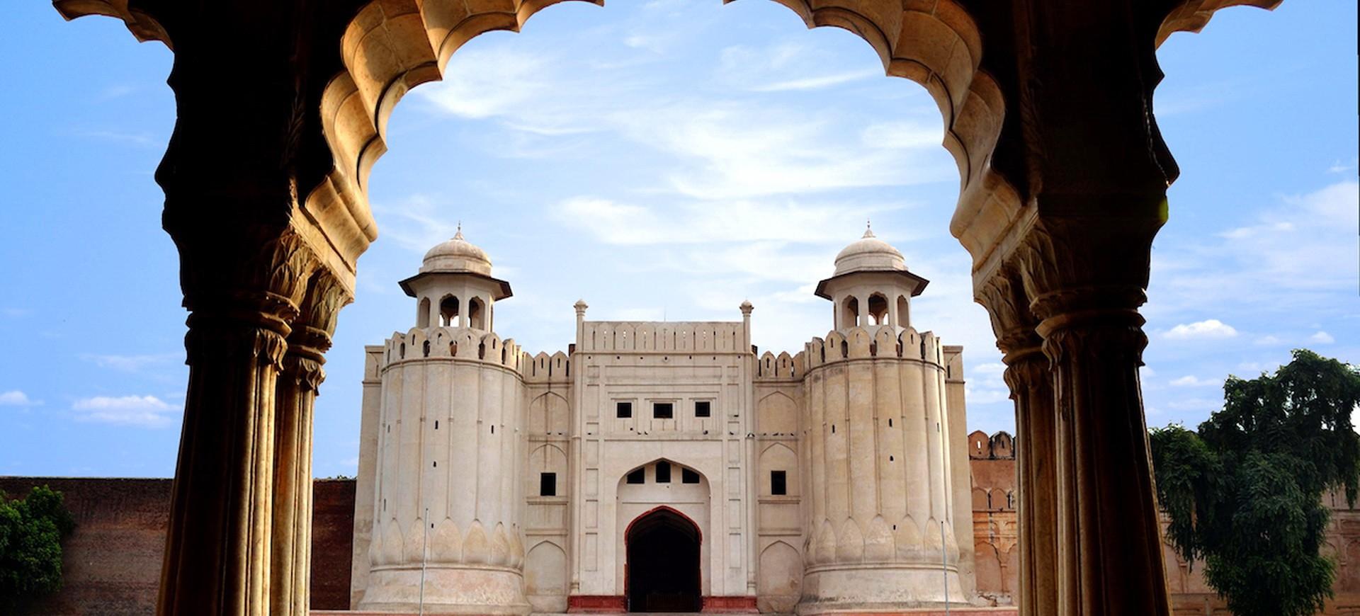 Le Fort ou la citadelle de Shahi Qila construit par l'empereur Moghol Shah Jahan à Lahore