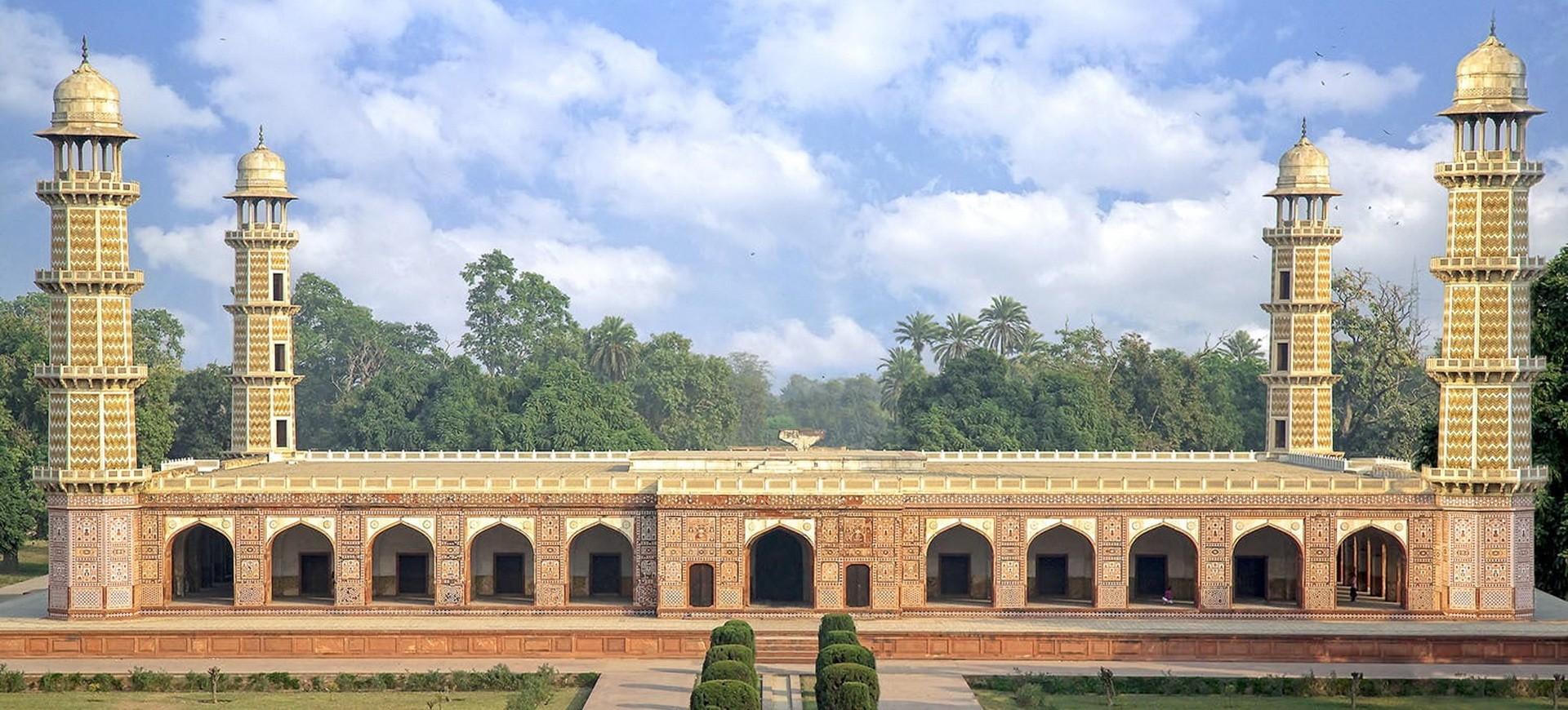 Tombeau de Empereur Moghol Jahangir à Lahore