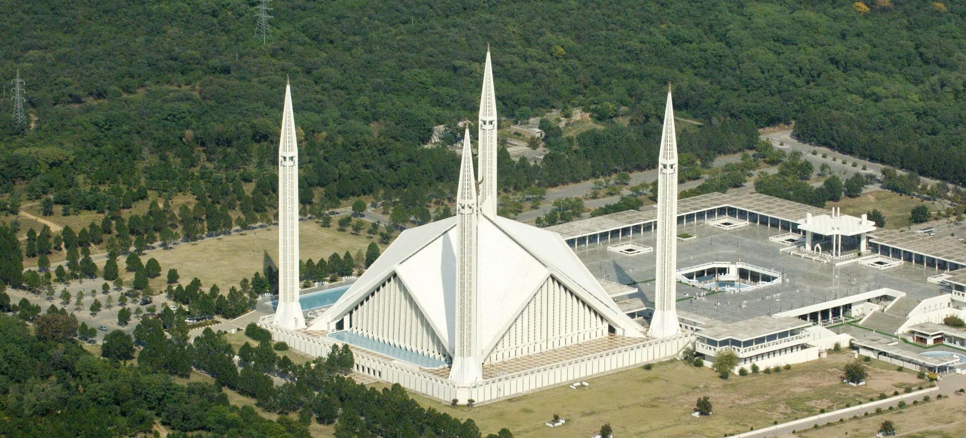 La Mosquée Faisal à Islamabad, la capitale