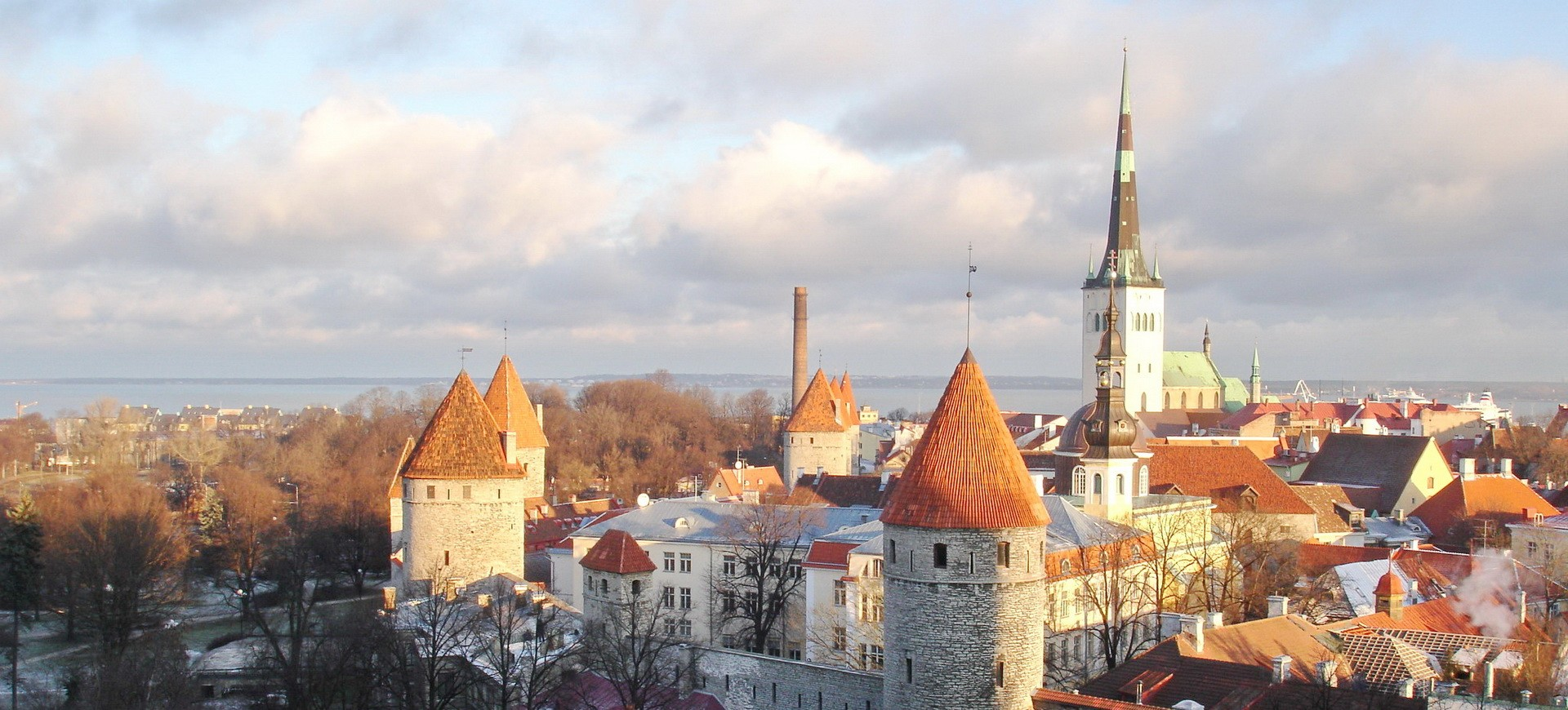 Thallin en Estonie aux Pays Baltes