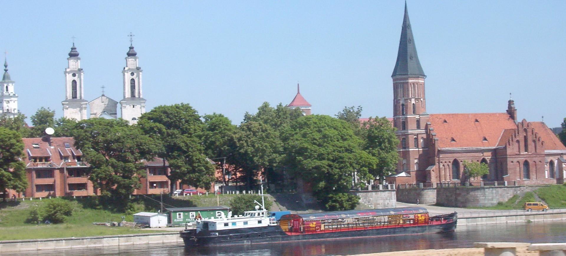 Pays Baltes Lituanie Vilnius Croisière sur la Rivière