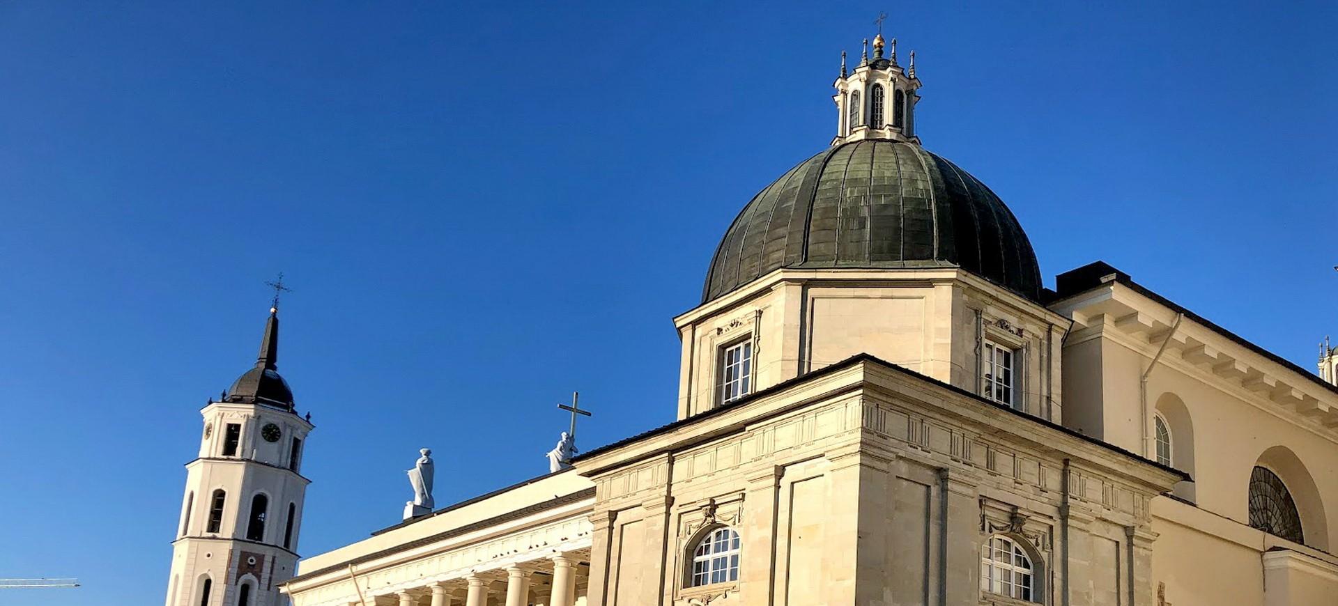 Pays Baltes Lituanie Vilnius Eglise