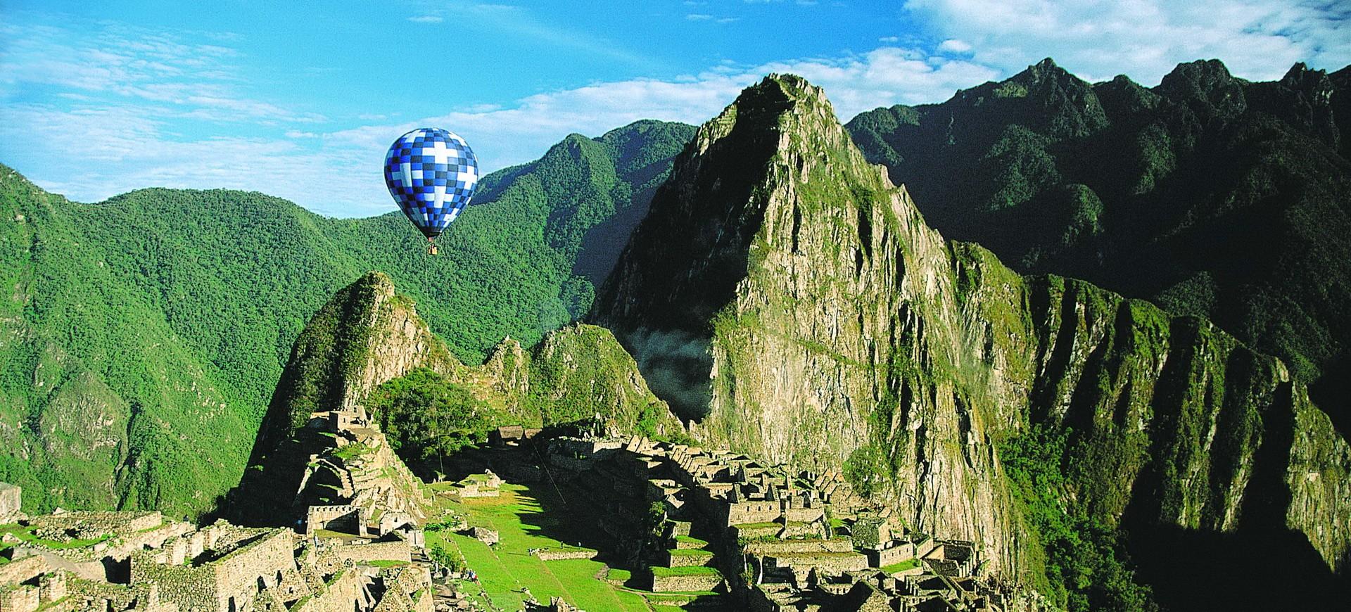 Machu Picchu cité de la civilisation Inca au Pérou