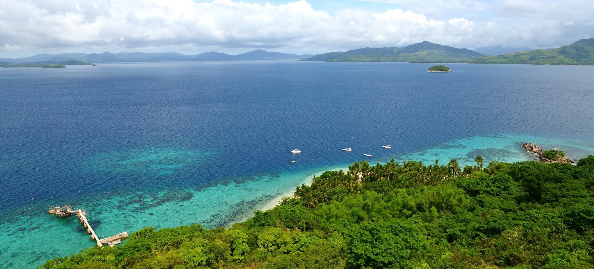Philippines Ile de Palawan Flower Island