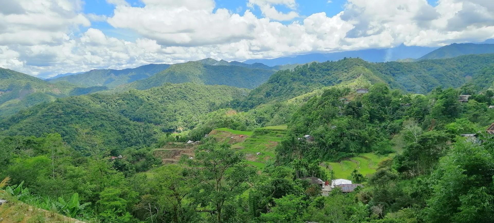Philippines Kinakin région montagneuse
