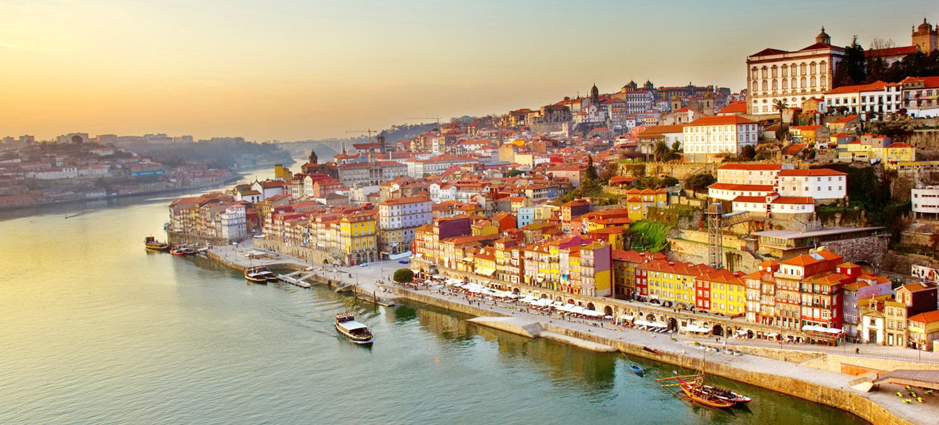 Vue panoramique sur Porto