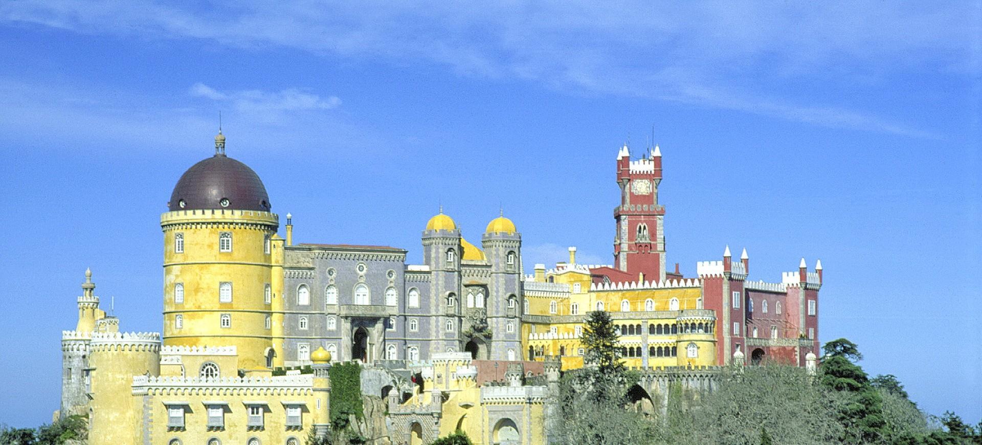Portugal Sintra Palais de Pena