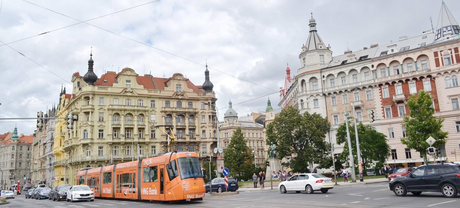 République Tchèque ou Tchéquie Prague Vieille Ville Mala Strana et le Trame by ZB
