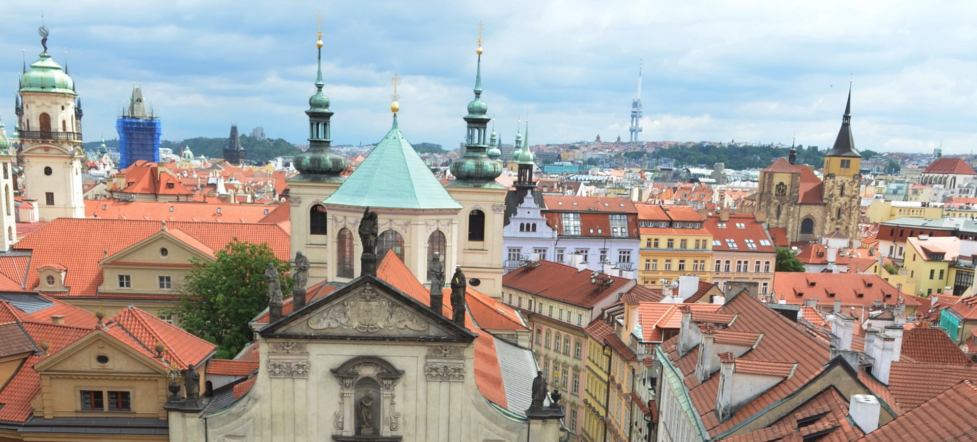 Vieille ville Mala Strana à Prague en République Tchèque