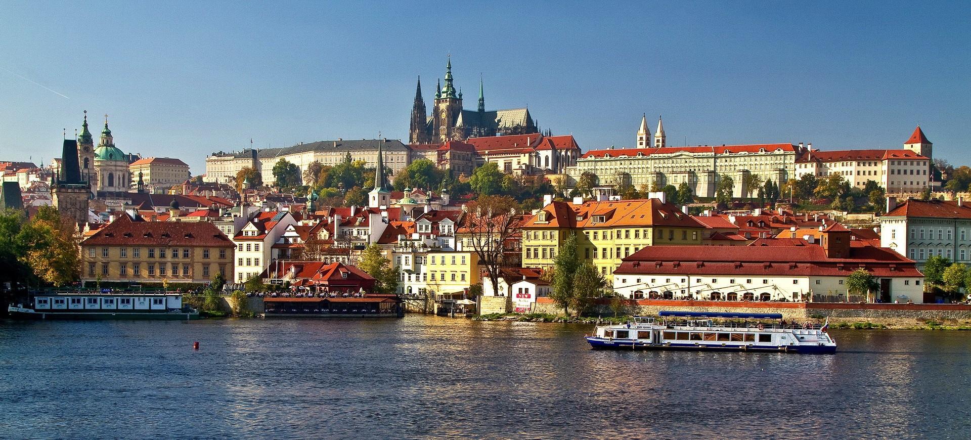 République Tchèque ou Tchéquie Tchéquie Prague vue panoramique