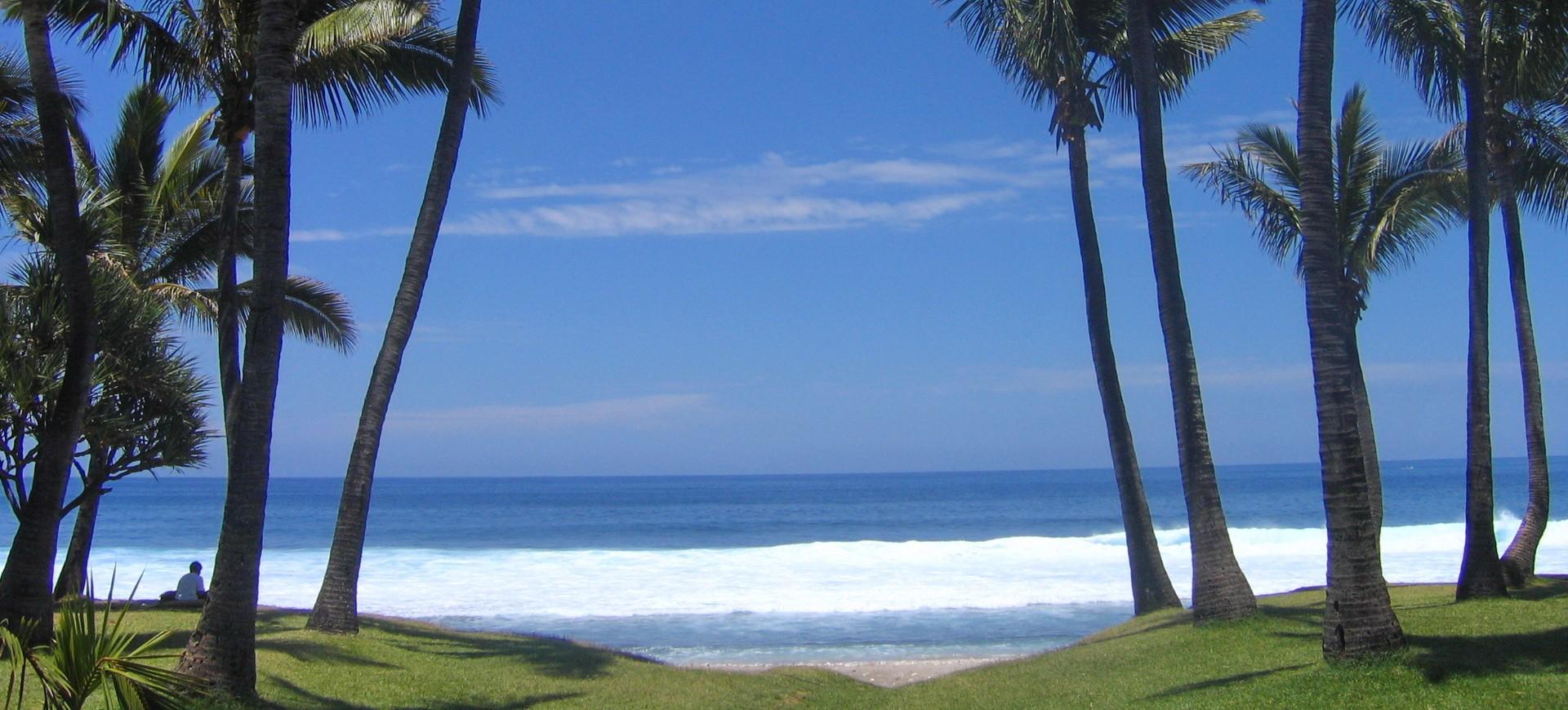 Grande Anse à I'île de la Réunion