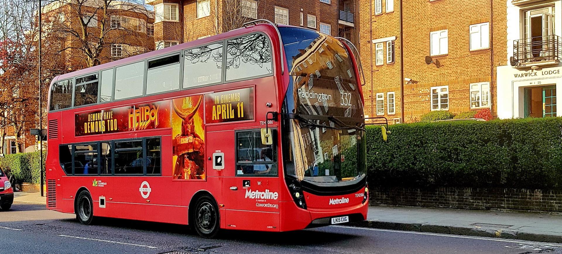 Double Un bus Decker à Londres