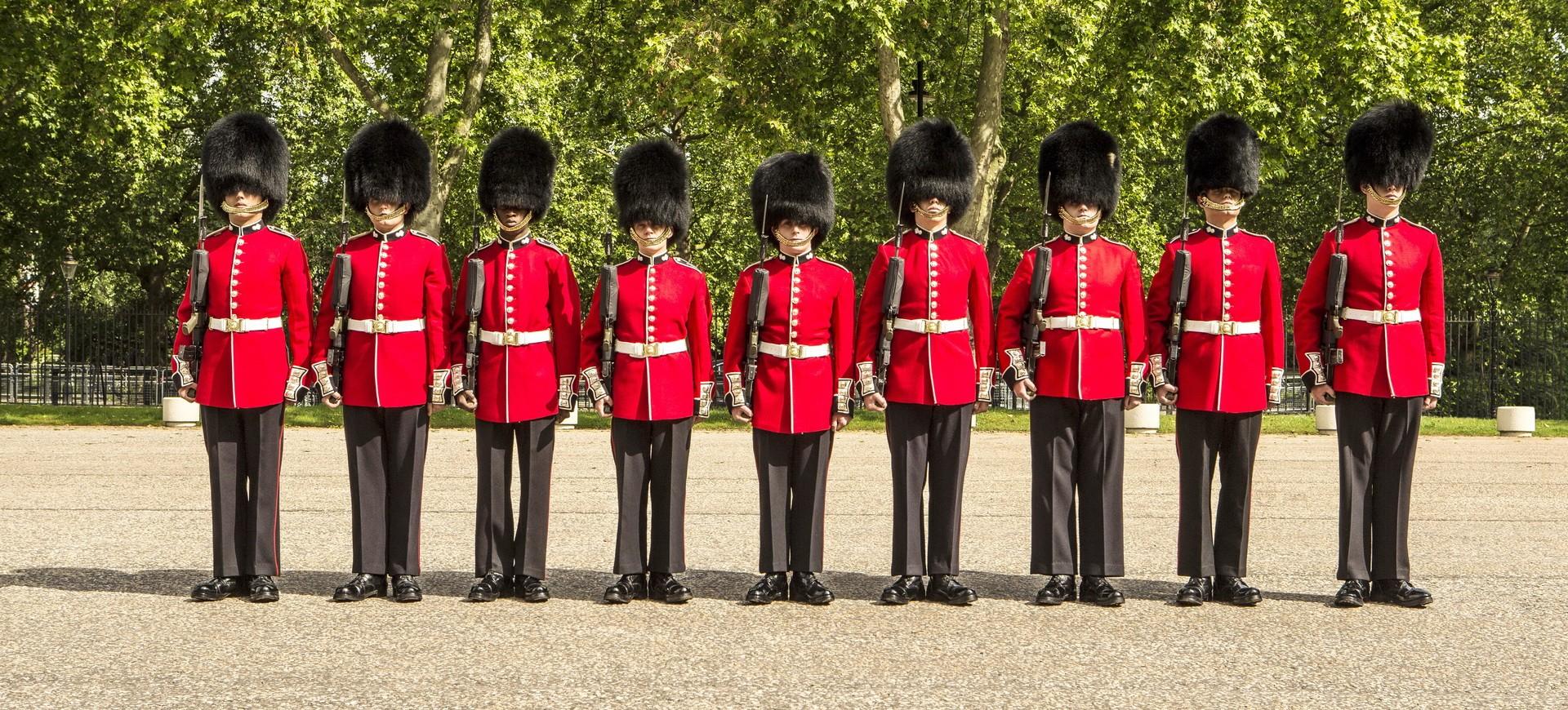 Gardes de la Reine à Londres