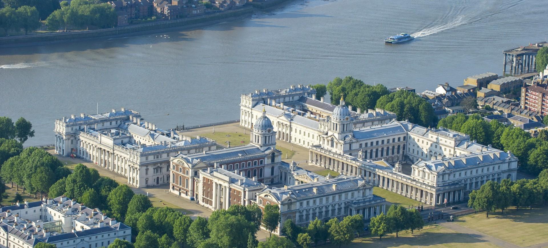 Greenwich Park et la Tamise