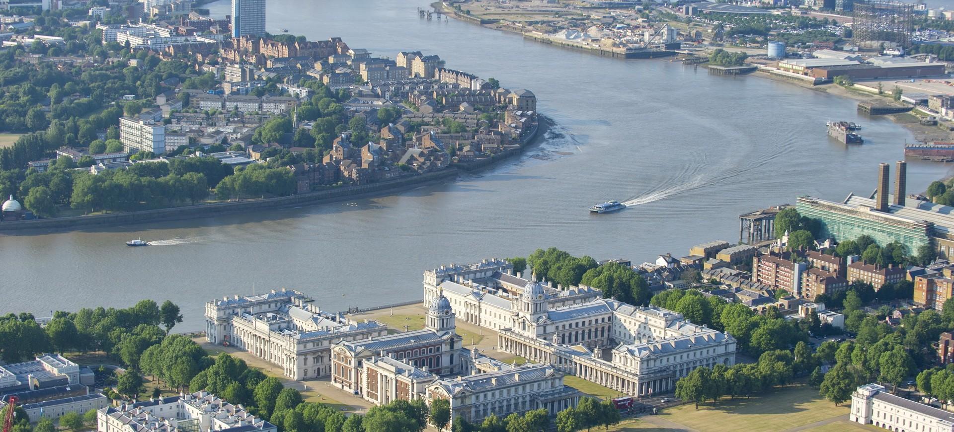 Royaume Uni Londres Greenwich Park et la Tamise