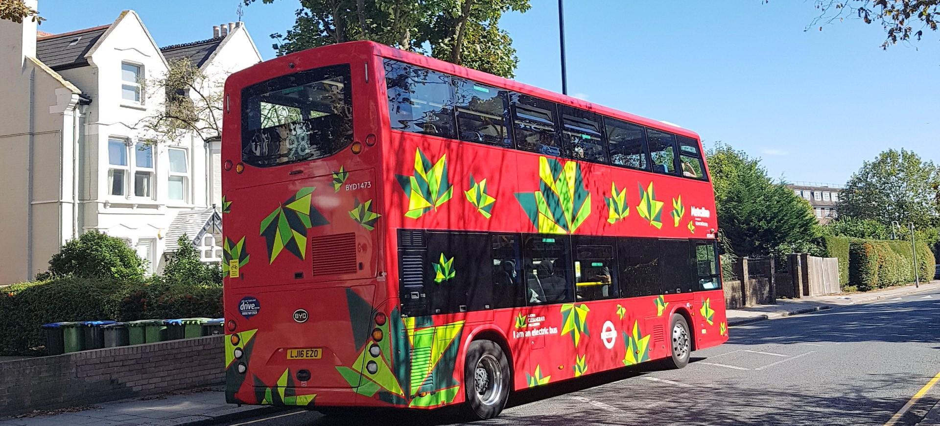 Double Un bus Decker à Brondesbury à Londres