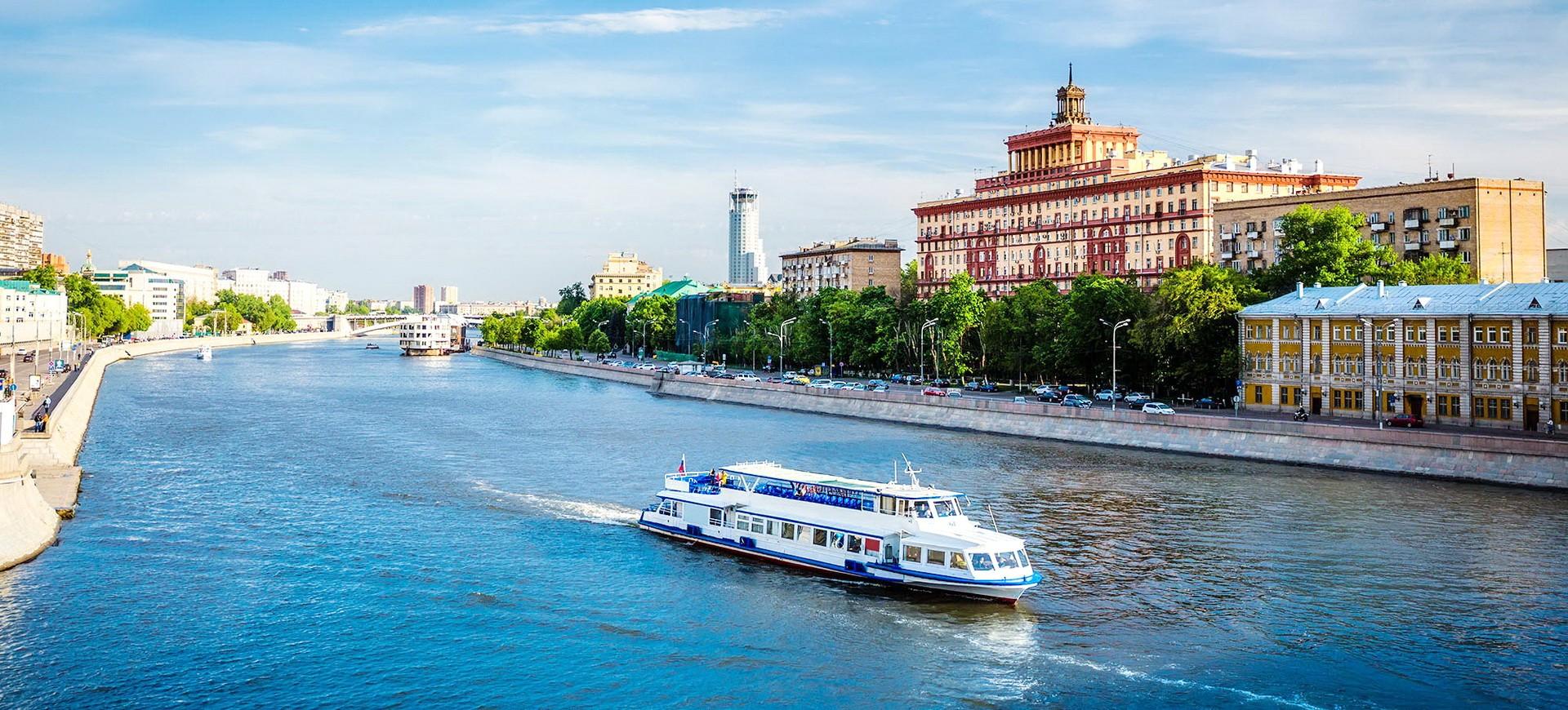 Russie Moscou croisire sur la Moskova