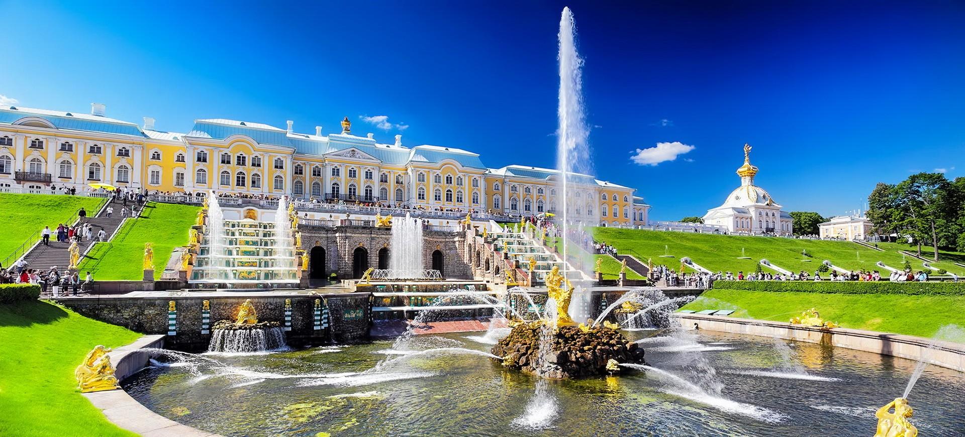 Russie Saint Petersbourg Petrodvorets