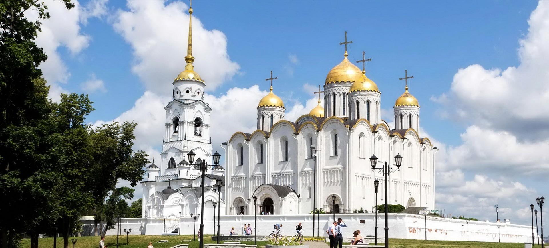 Russie Vladimir Cathédrale de la Dormition
