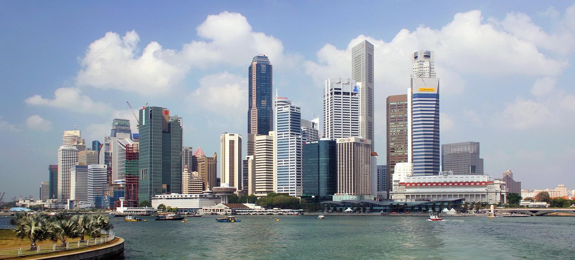 Singapour et ses gratte-ciel