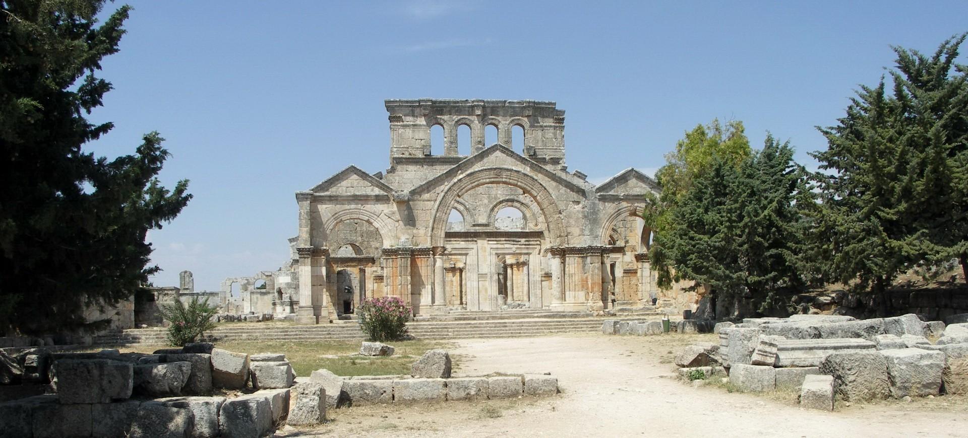 Syrie Alep Saint Simeon