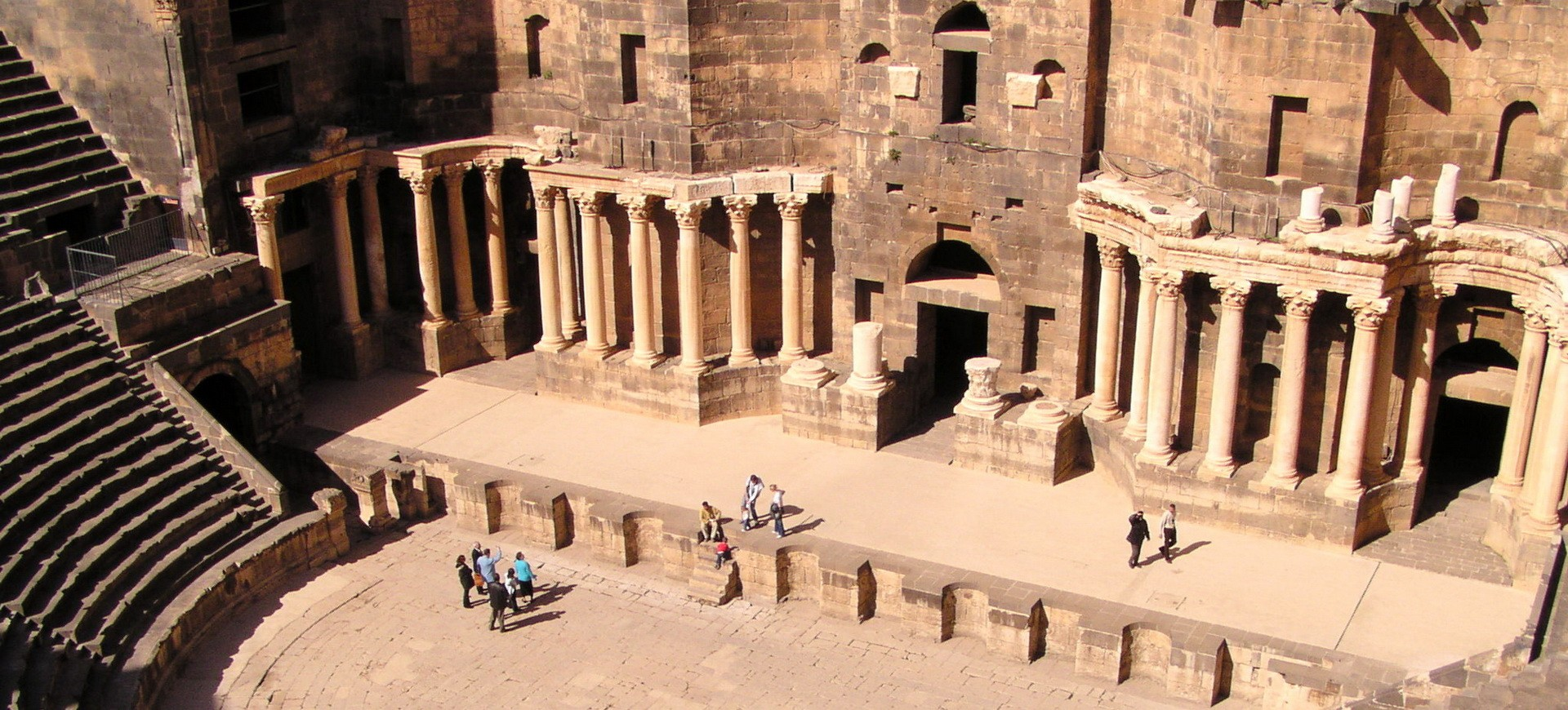 Syrie Bosra Amphithéâtre