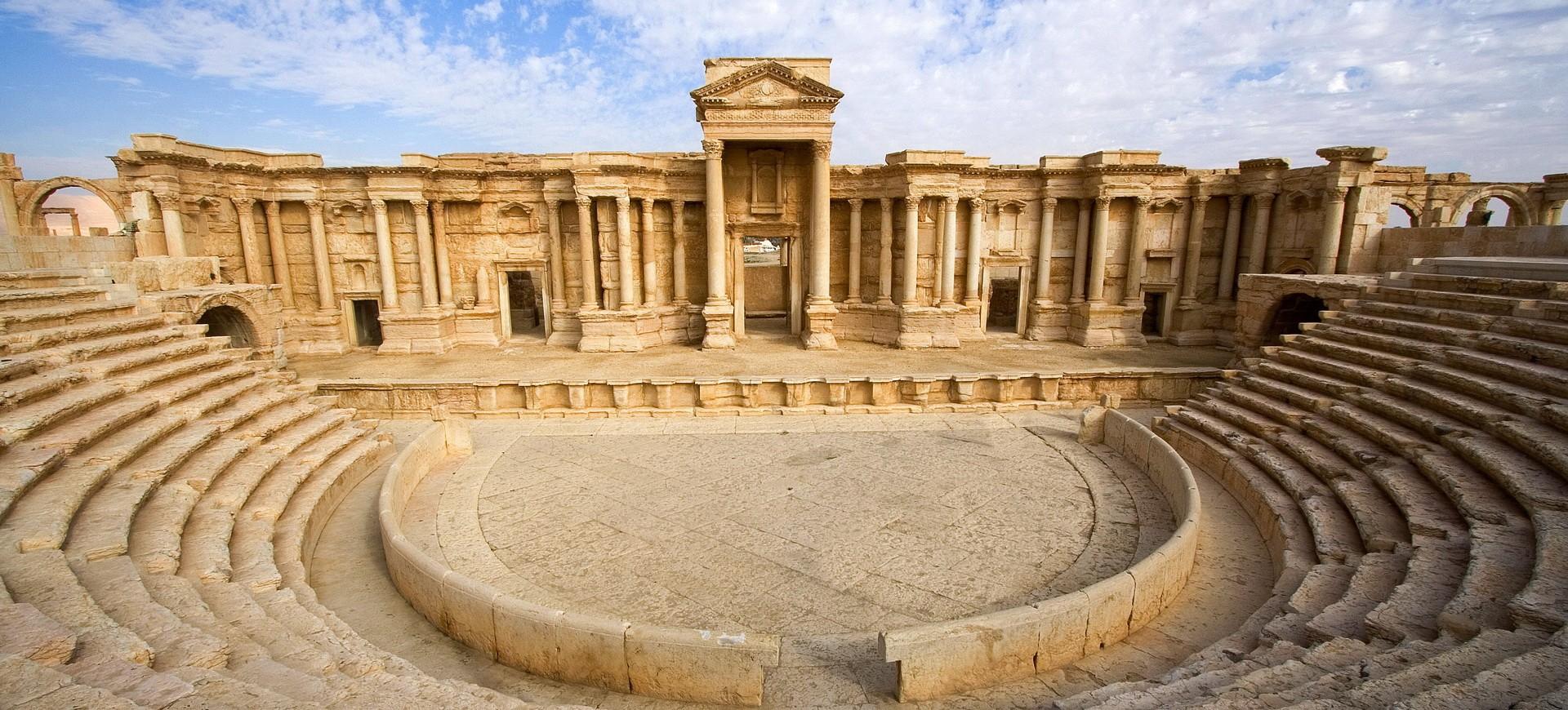 Syrie Palmyre Royaume de la Reine Zénobie