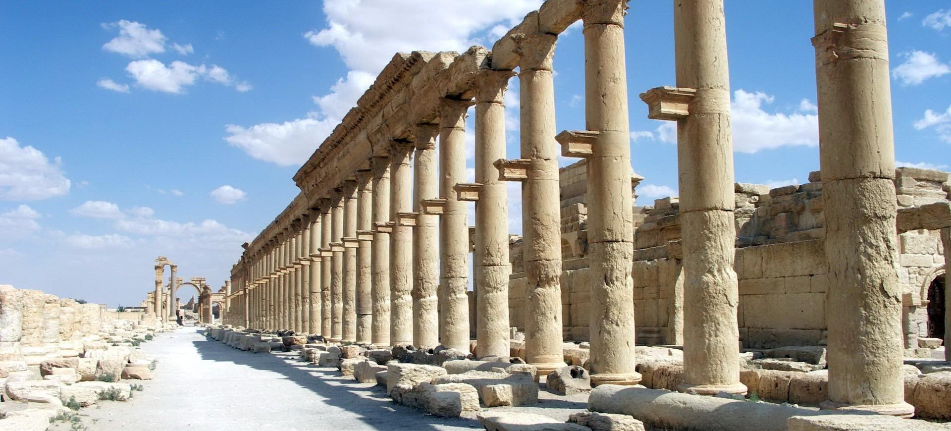 Syrie Palmyre Cité de la Reine Zénobie