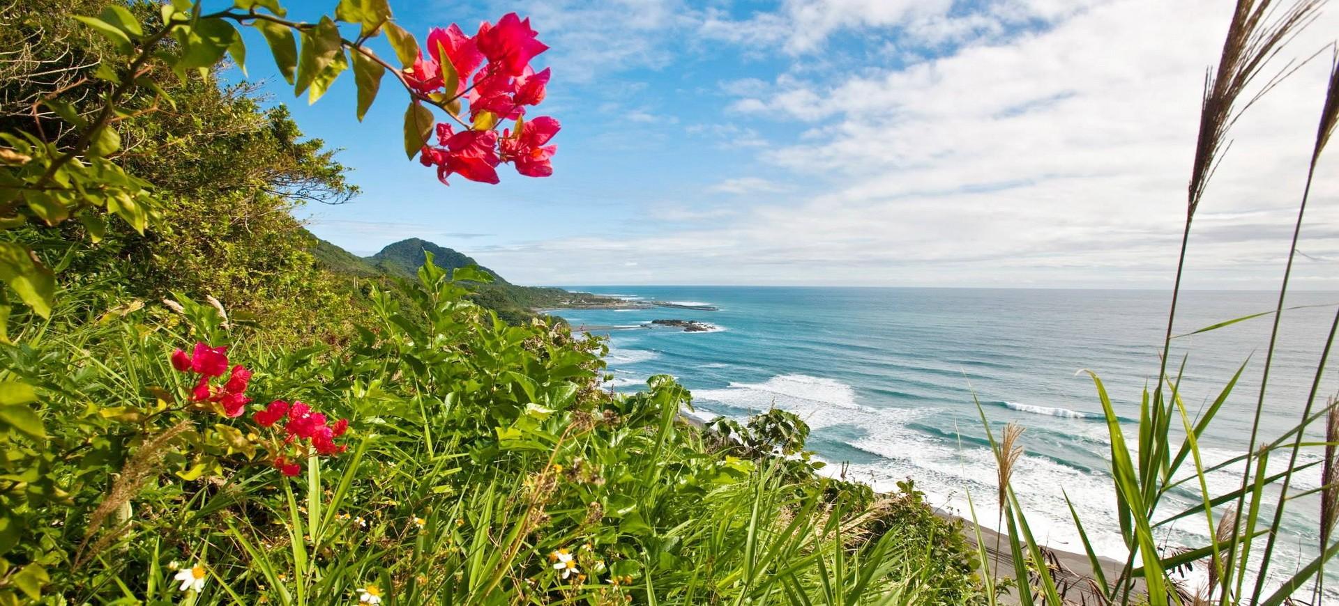 Taiwan Taitung La côte sauvage