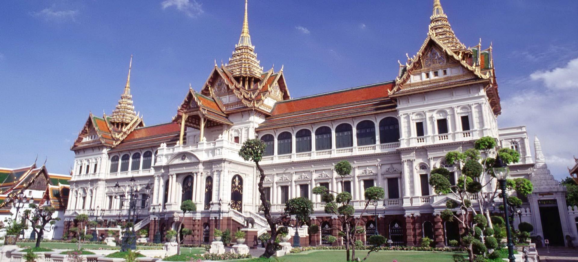 Palais Royal à Bangkok en Thailande