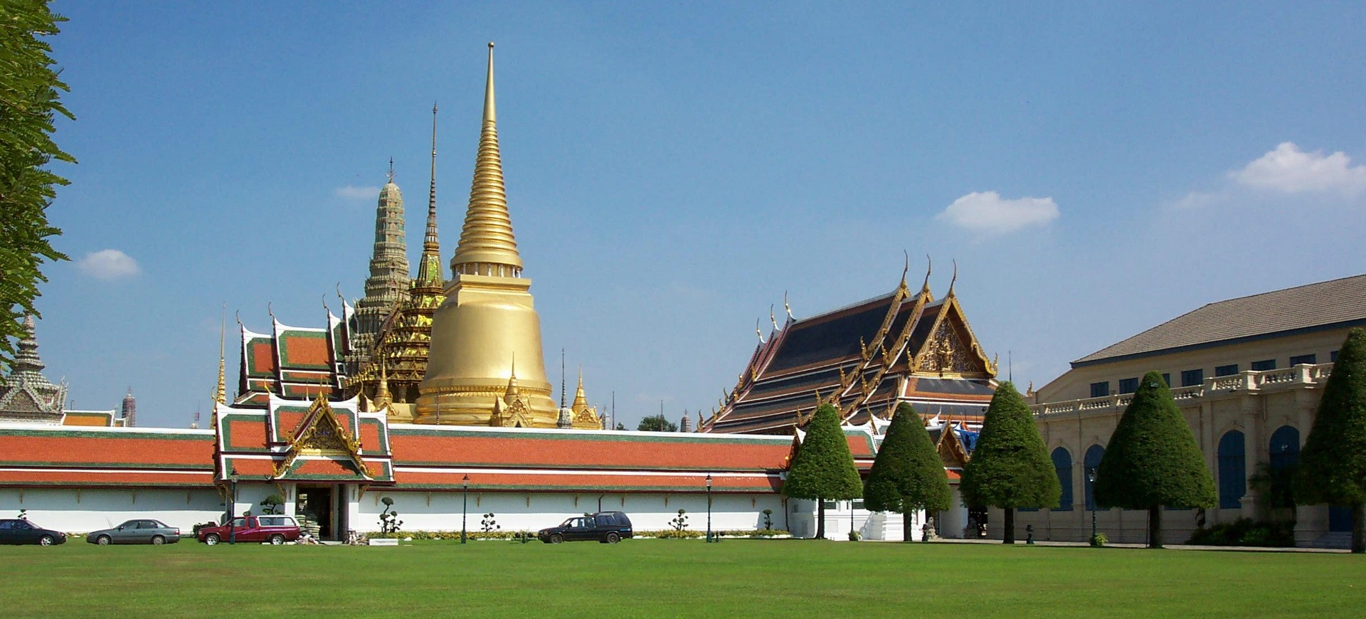 Temple Wat Phra Kaew à Bangkok en Thailande