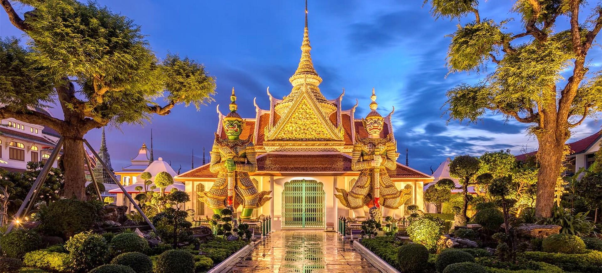 Thailande Bangkok Wat Arun Temple
