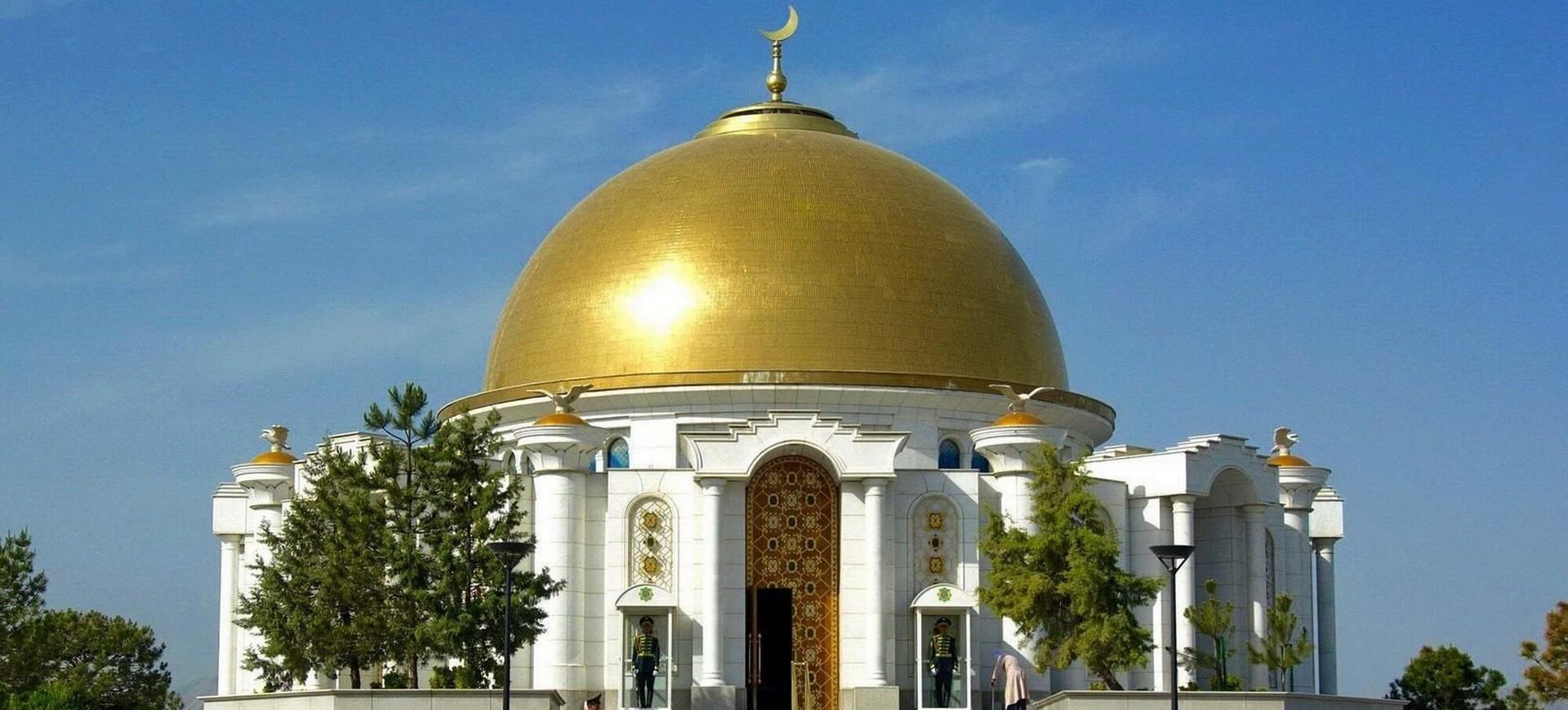 Turkménistan Achqabat Mausolée de Niazov