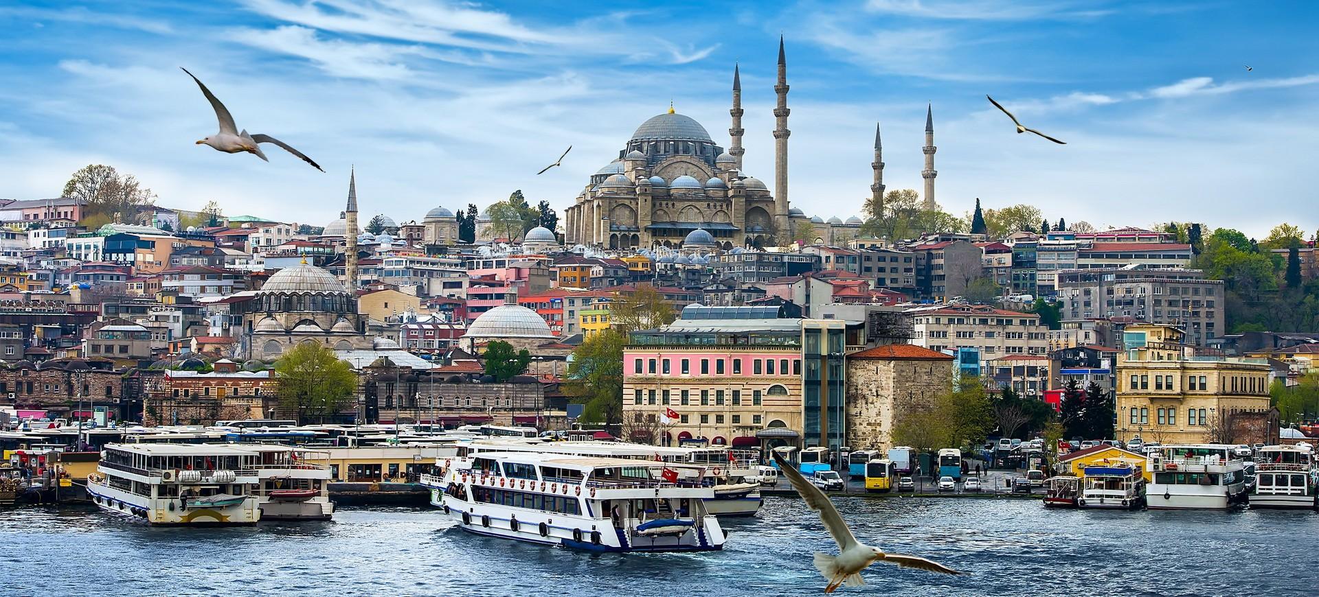Turquie Istanbul au bord du Bosphore