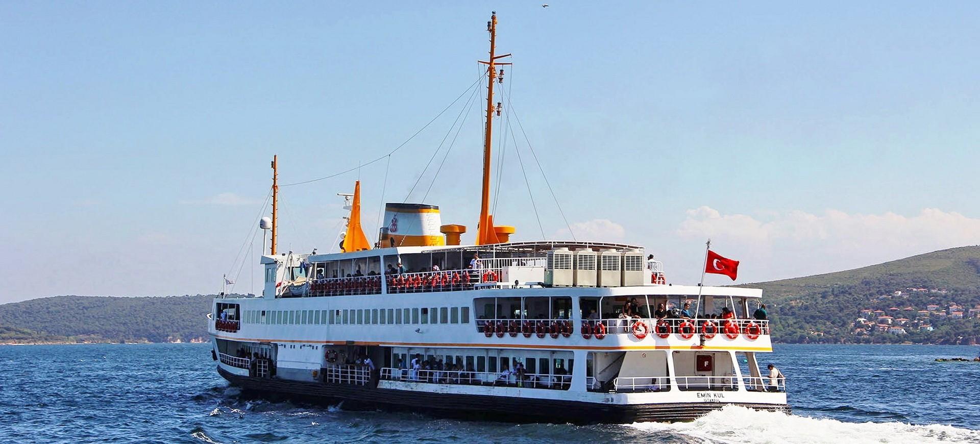 Croisière sur le Bosphore à Istanbul en Turquie