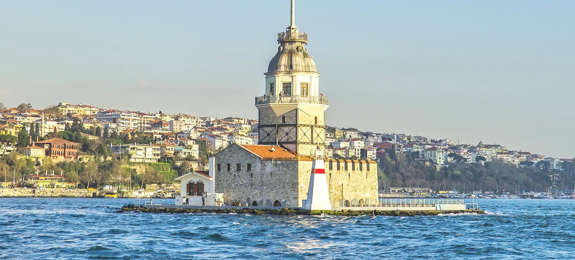 Turquie Istanbul Phare de la rivière Bosphore