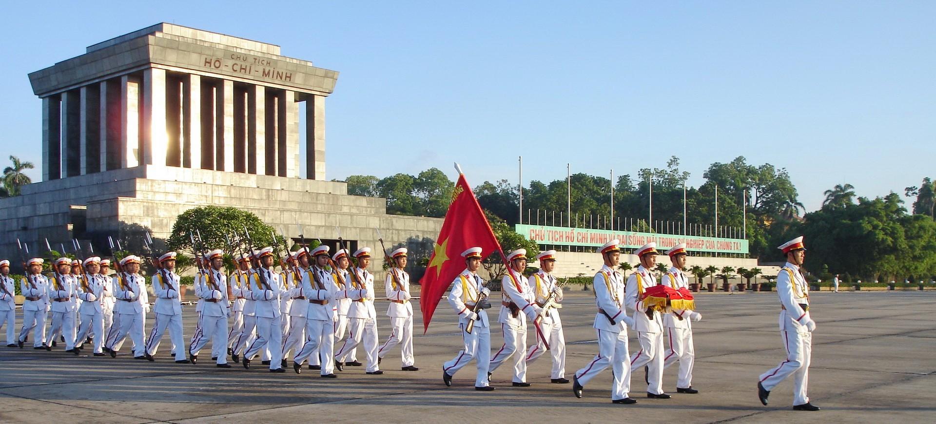 Vietnam Hanoi Mausolé Ho Chi Minh