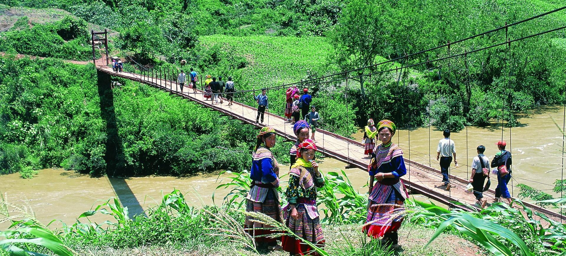 Vietnam Sapa Pont Suspendu