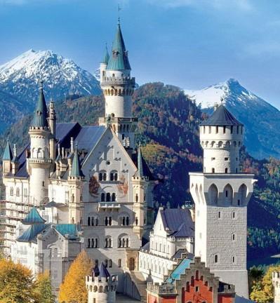 Lacs et châteaux en Bavière