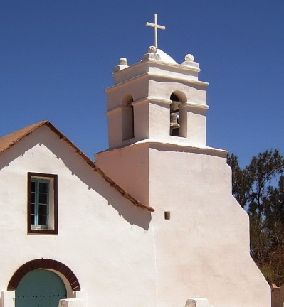 Chili Désert Atacama San Pedro Eglise