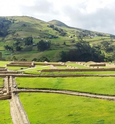 Equateur Ingaprica Site Archéologique Forteresse Précolombienne